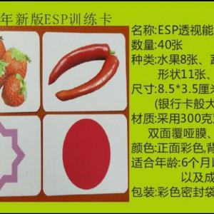七田真右脑开发ESP透视能力训练卡-七田真ESP卡