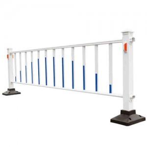 粤盾镀锌钢城市道路护栏马路中央隔离栏市政公路定制
