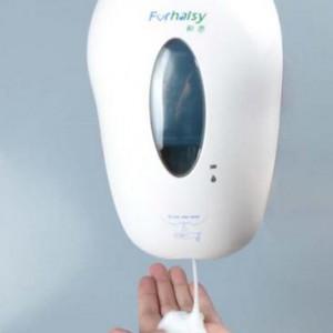 瑞沃智能皂液器——专业手按皂液器供应商_图片