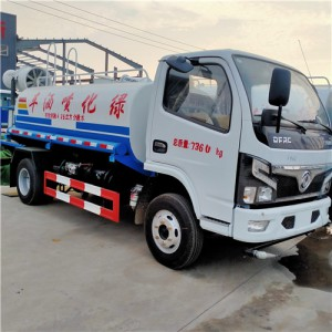 绿化小型洒水车5吨喷洒车价格厂家报价_图片