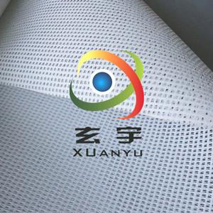 源头工厂订制1000D小孔浸塑布PVC网格布喷绘布